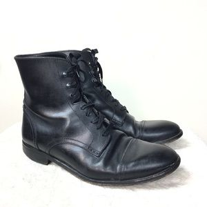 The Kooples Black Leather Boot 45
